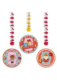 Sinterklaas Hangdecoratie Spiraal